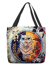 Our Best Owl Art All-over Tote back