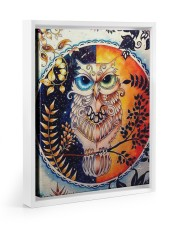 Our Best Owl Art 11x14 White Floating Framed Canvas Prints thumbnail