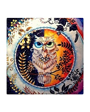 Our Best Owl Art Square Coaster thumbnail