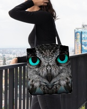 Our Best Owl Art All-over Tote aos-all-over-tote-lifestyle-front-05