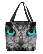 Our Best Owl Art All-over Tote front