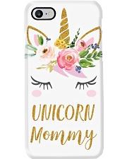 Cute Unicorn Mom Shirt Mom of the Birthday Girl Phone Case thumbnail