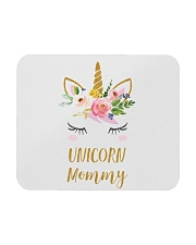 Cute Unicorn Mom Shirt Mom of the Birthday Girl Mousepad thumbnail