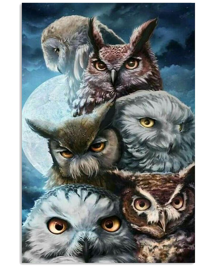 owls Lovers  11x17 Poster