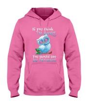 Our Best Owl Art Hooded Sweatshirt thumbnail