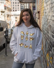 Our Best Owl Art Hooded Sweatshirt lifestyle-unisex-hoodie-front-1