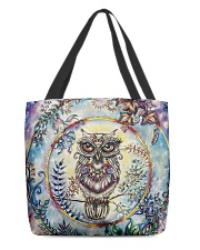 Our Best Owl Art 1 All-over Tote back