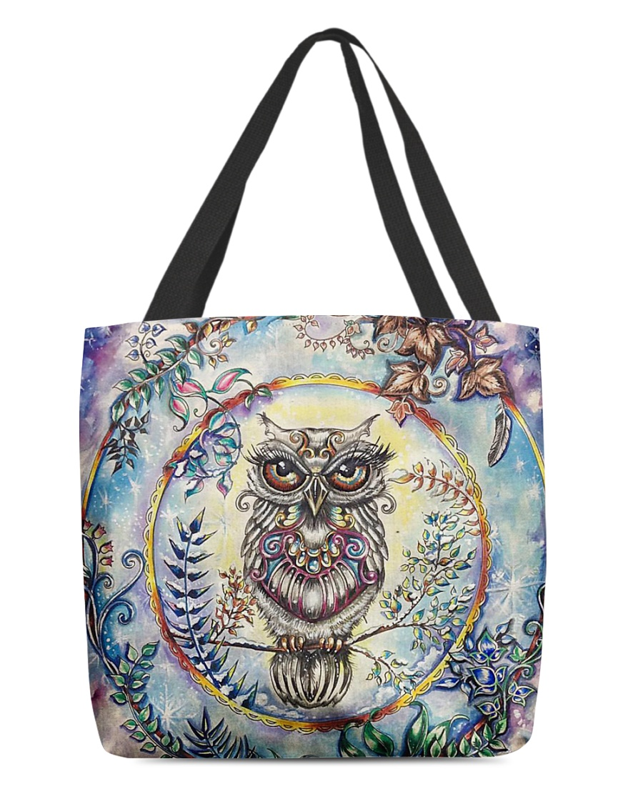 Our Best Owl Art 1 All-over Tote