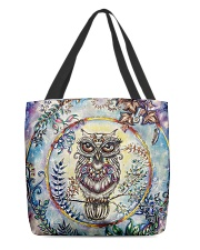 Our Best Owl Art 1 All-over Tote front