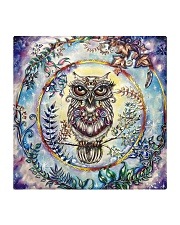 Our Best Owl Art 1 Square Coaster thumbnail