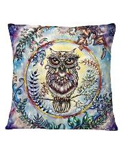 Our Best Owl Art 1 Square Pillowcase thumbnail