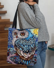 Our Best Owl Art All-over Tote aos-all-over-tote-lifestyle-front-09