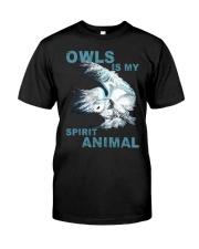 Our Best Owl Art Classic T-Shirt front