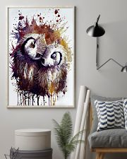 Our Best Owl Case 11x17 Poster lifestyle-poster-1