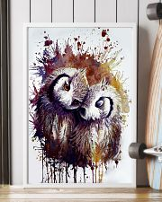 Our Best Owl Case 11x17 Poster lifestyle-poster-4