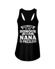 Being A Mom Is An Honour Being Nana Is Princeless Ladies Flowy Tank thumbnail