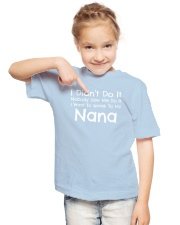 I Want To Speak To My Nana Funny Youth T-Shirt lifestyle-youth-tshirt-front-2