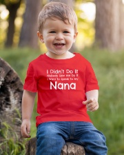 I Want To Speak To My Nana Funny Youth T-Shirt lifestyle-youth-tshirt-front-4
