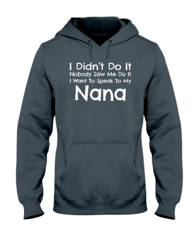 I Want To Speak To My Nana Funny