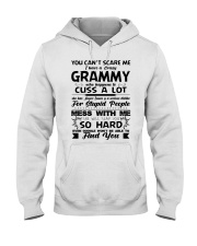 You Can't Scare Me I Have A Crazy Grammy Hooded Sweatshirt thumbnail