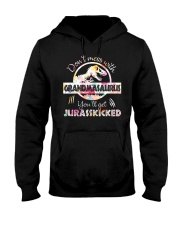 BEST GRANDMA GIFT - SOLD OVER 999 order Hooded Sweatshirt thumbnail