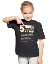5 Things You Should Know About My Nana Youth T-Shirt lifestyle-youth-tshirt-front-2