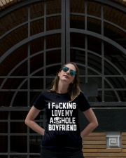 I Fucking Love My Asshole Boyfriend Funny Gift Ladies T-Shirt lifestyle-women-crewneck-front-1
