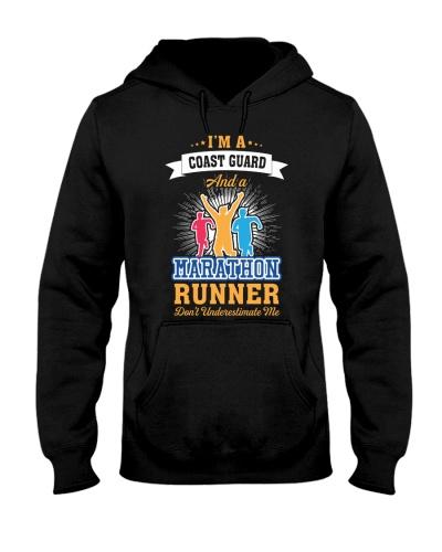 Coast Guard Marathon Runner
