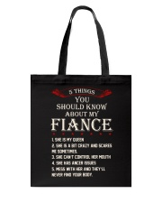 5 Things About My Fiance Tote Bag thumbnail