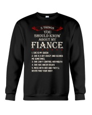 5 Things About My Fiance Crewneck Sweatshirt tile