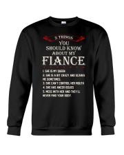 5 Things About My Fiance Crewneck Sweatshirt thumbnail