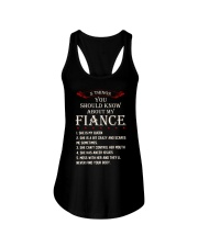 5 Things About My Fiance Ladies Flowy Tank thumbnail