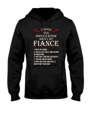 5 Things About My Fiance Hooded Sweatshirt thumbnail