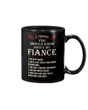 5 Things About My Fiance Mug tile