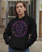 Hello Darkness My Old Friend Hooded Sweatshirt apparel-hooded-sweatshirt-lifestyle-08