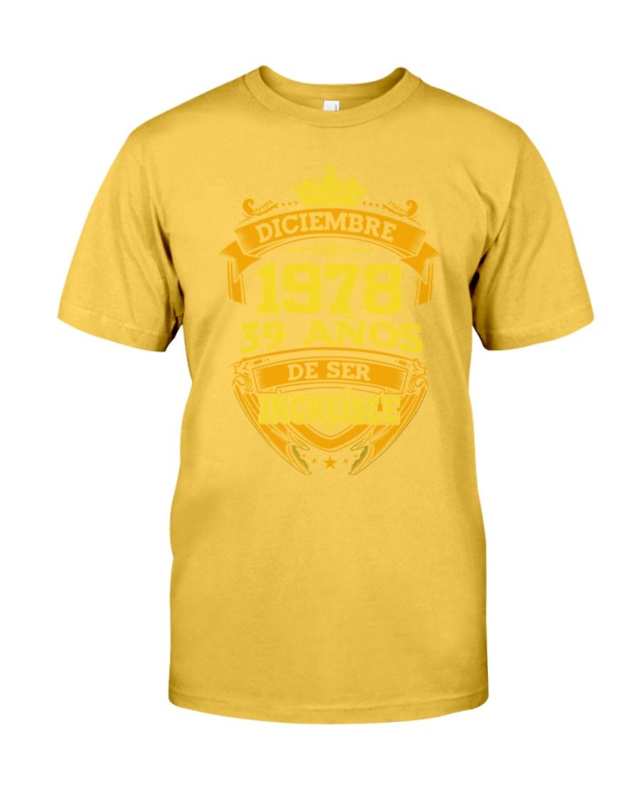 h-diciembre-78 Classic T-Shirt