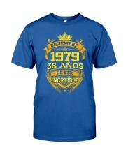 h-diciembre-79 Classic T-Shirt front