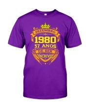 h-dezembro-80 Classic T-Shirt front