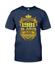 h-diciembre-81 Classic T-Shirt front