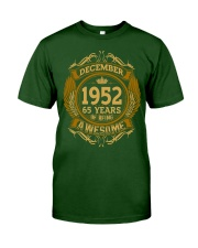 M12-52 Classic T-Shirt front