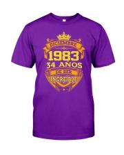 h-diciembre-83 Classic T-Shirt front