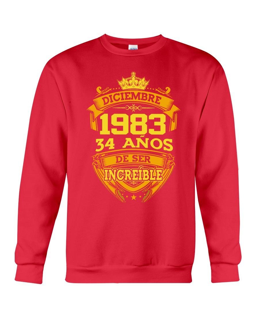 h-diciembre-83 Crewneck Sweatshirt