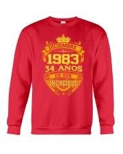 h-diciembre-83 Crewneck Sweatshirt front