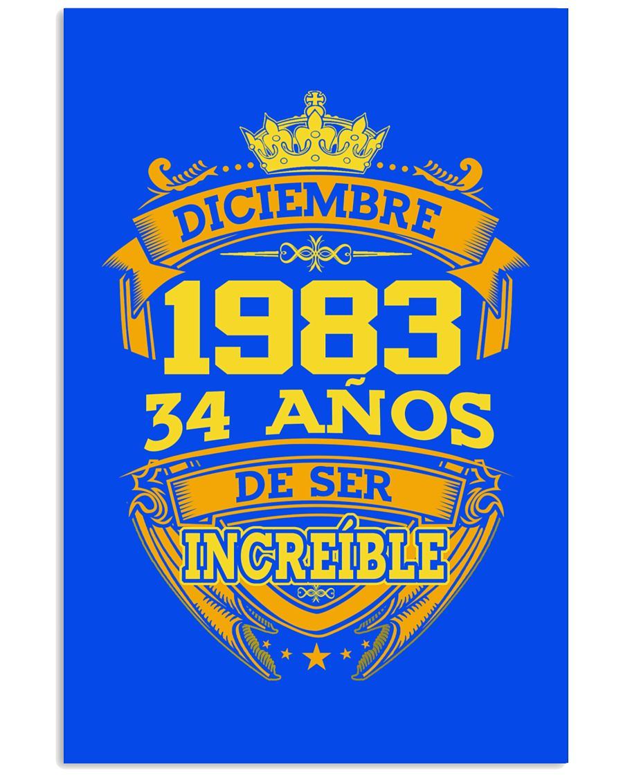 h-diciembre-83 24x36 Poster