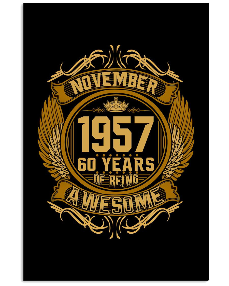 h-november-57 24x36 Poster