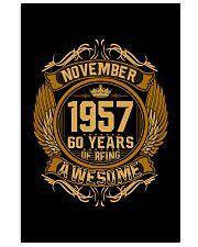 h-november-57 24x36 Poster front