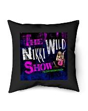 """Nikki Wild Face Merch Indoor Pillow - 16"""" x 16"""" thumbnail"""