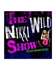 Nikki Wild Face Merch Square Coaster thumbnail
