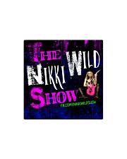 Nikki Wild Face Merch Square Magnet thumbnail