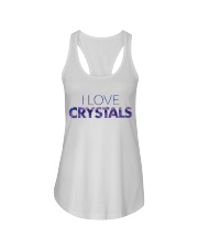 I Love Crystals V2 Ladies Flowy Tank thumbnail